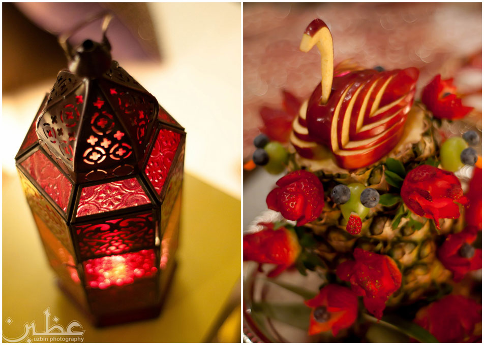 Uzbin Photography Lantern collage A Burmese Bangladeshi Henna and Holud Ceremony By Uzbin Photography