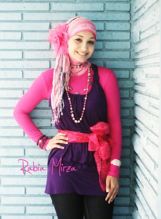 Pink Hijab2 Fashion Photography By Rabia Mirza 