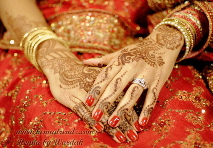 Henna by Wardah Bridal Hand 3 Henna Trendz By Wardah 