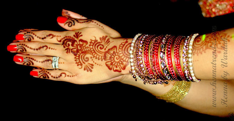 Henna by Wardah Hands 2h Henna Trendz By Wardah 