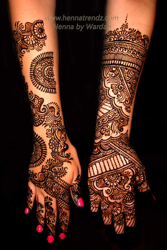 Henna by Wardah Hands 3 Henna Trendz By Wardah 