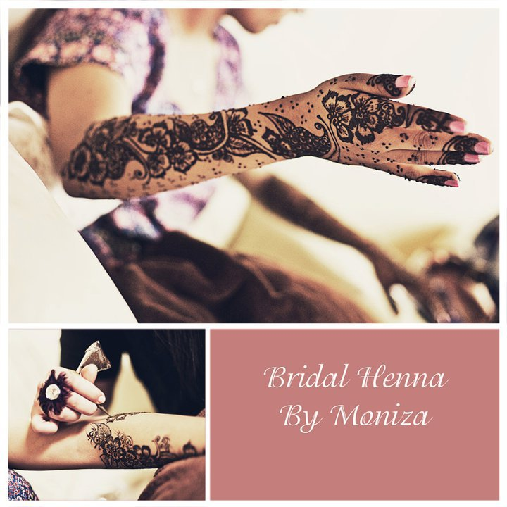 Bridal Henna by Moniza Collage Bridal Henna By Moniza