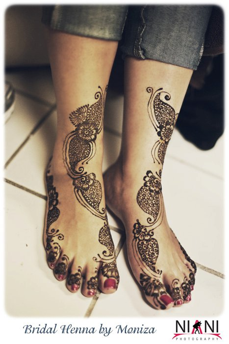 Bridal Henna by Moniza Feet Bridal Henna By Moniza