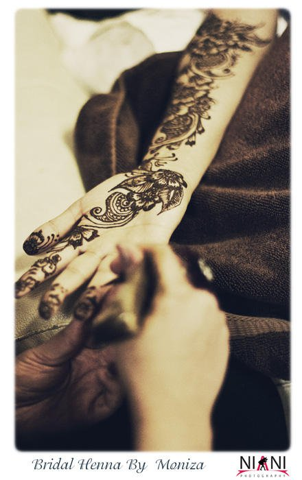 Bridal Henna by Moniza Henna Hand Bridal Henna By Moniza