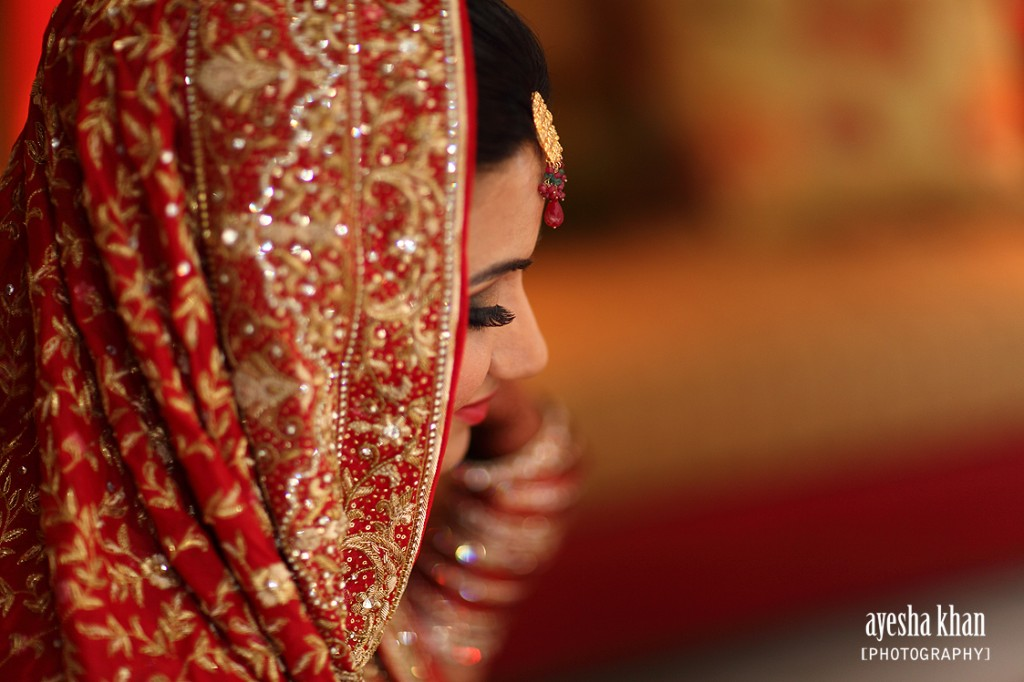 Sana profile shot at her rukhsati wedding reception The Muslim Bride 1024x682 The Muslim Bride Special Wedding Feature: Sana and Shahzebs Wedding Reception